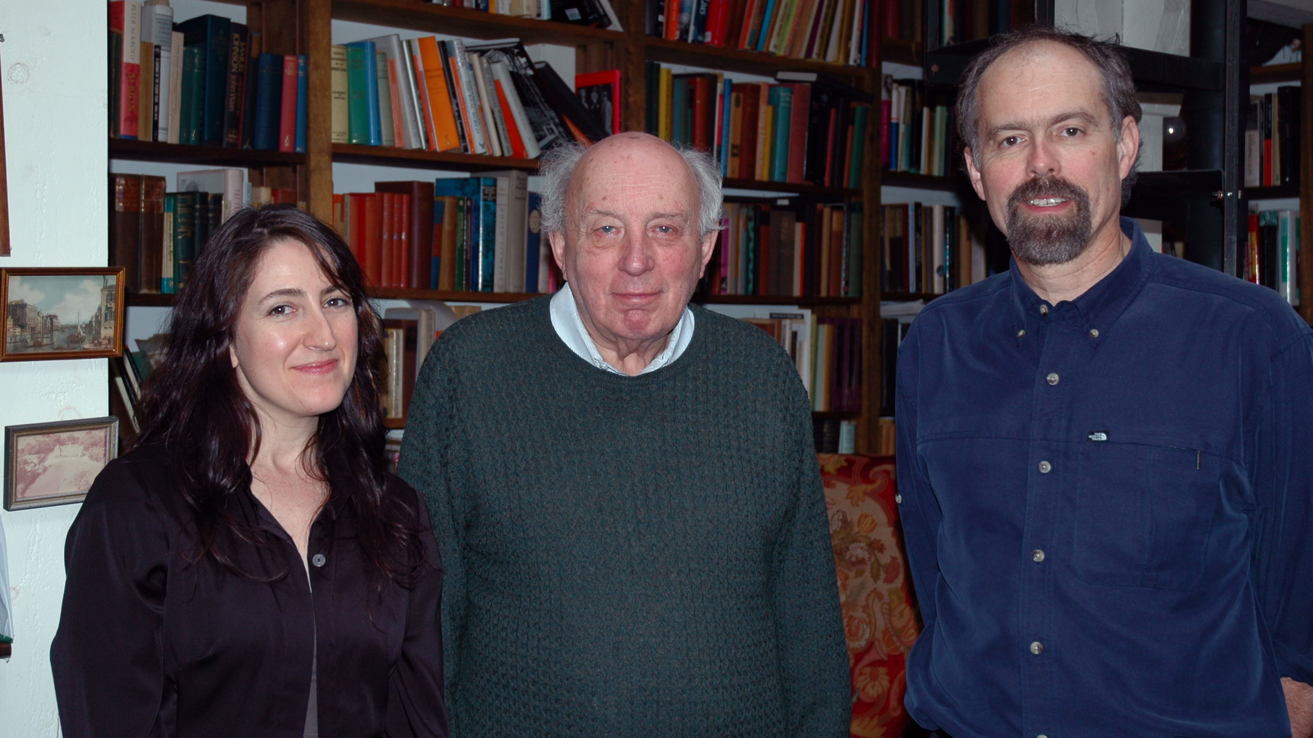 Marie Tobin, John Lukacs, William VanDerKloot